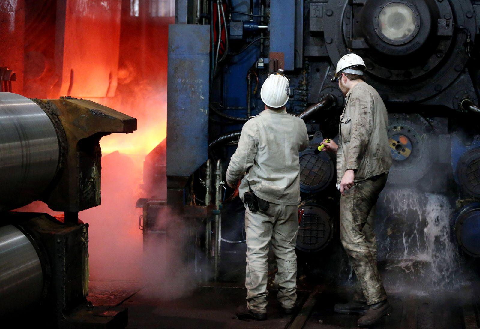 Deutschland Konjunktur / Wirtschaft / Industrie / Stahlproduktion ThyssenKrupp