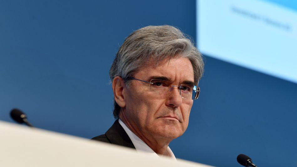 Siemens-Chef Joe Kaeser unter Druck