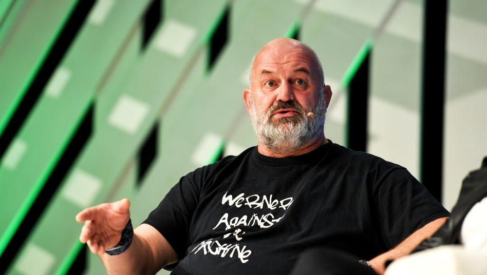Techvisionär des Techgiganten: Werner Vogels.