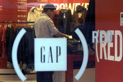 Schwere Zeiten: Die Geschäfte von Gap laufen derzeit alles andere als gut