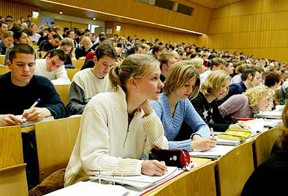BWL-Studenten an der Universität Tübingen: Für eine der besten Unis entschieden