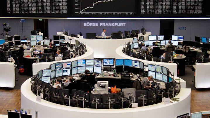 Volle Kassen: Die Cash-Könige im Dax
