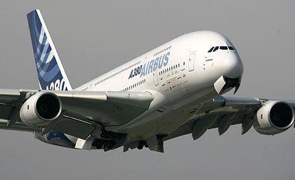 Hoffnungsträger A380: Managementfehler und technischen Problemen mit der Verkabelung des Super-Airbus bescherten Milliardenverluste