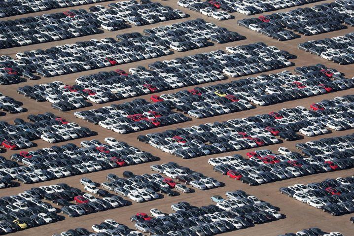 In den USA zurückgekaufte Diesel-Volkswagen (Bild von 2018)