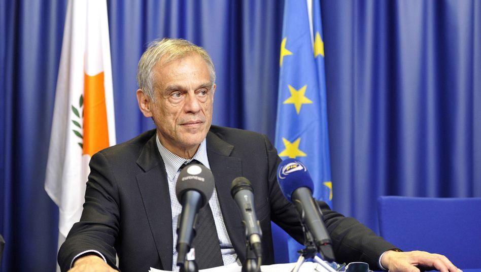 Zyperns Finanzminister Sarris: Die Großanleger werden zur Rettung des Landes herangezogen