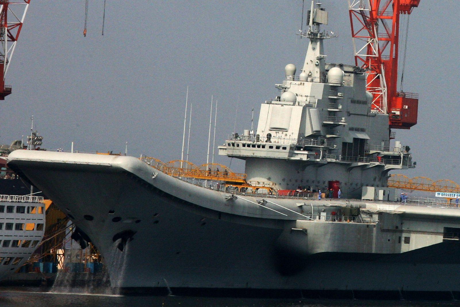 China/ Flugzeugträger