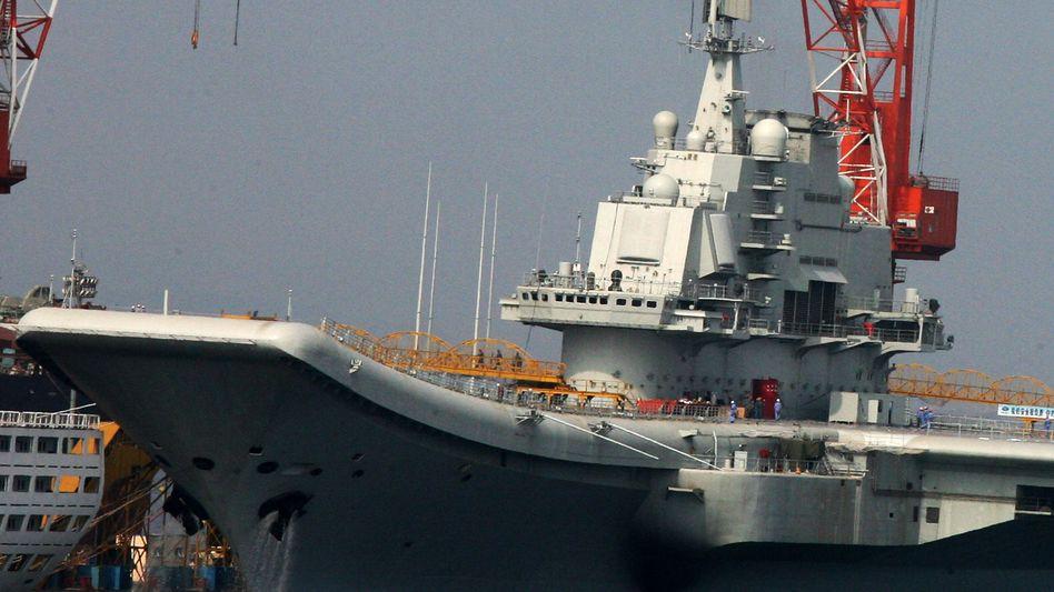 Flugzeugträger: China hält den Aufbau einer starken Seemacht für notwendig