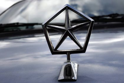 Insolvent: Logo von Chrysler
