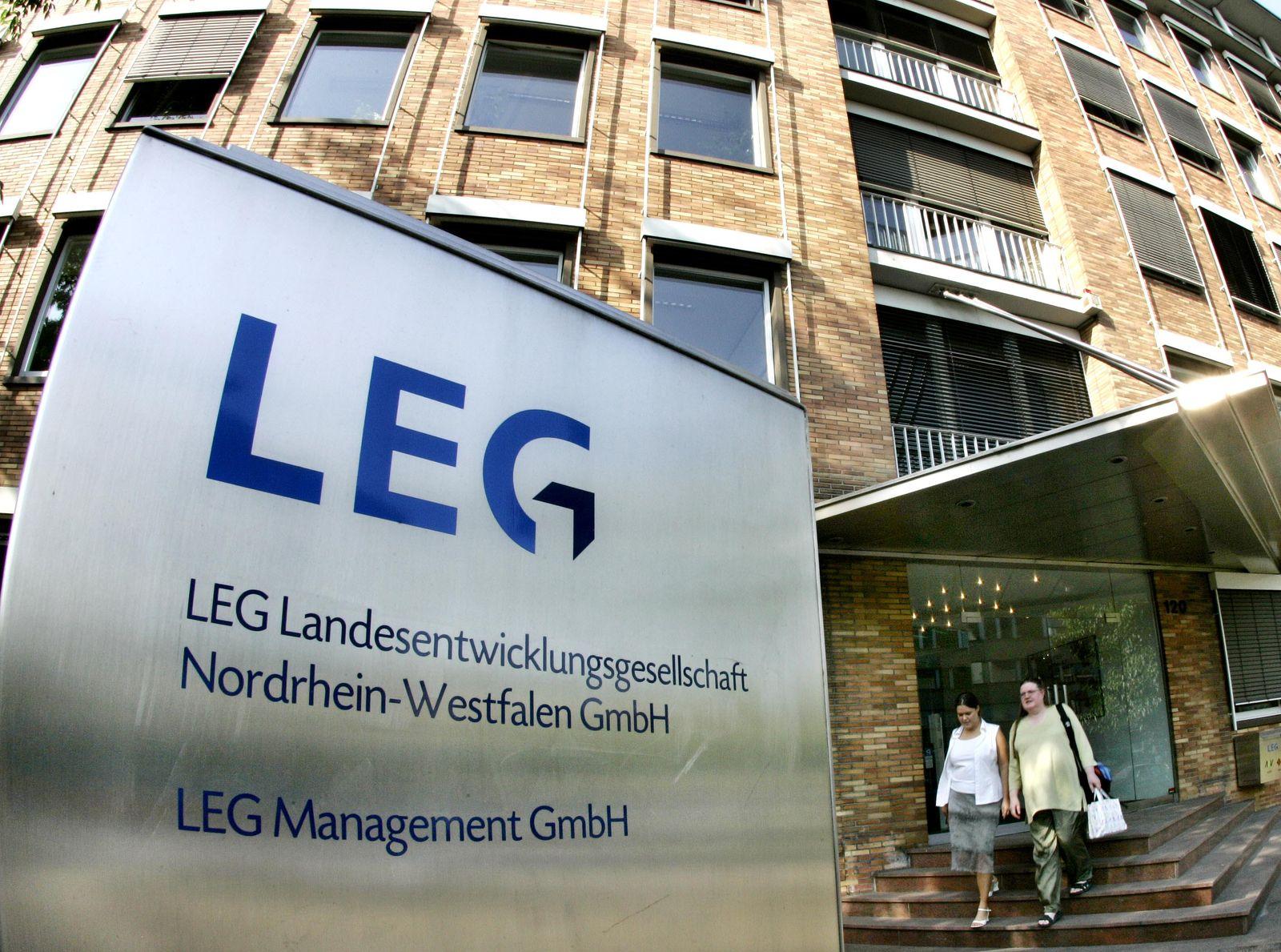 Zentrale ders Wohnungsunternehmen LEG
