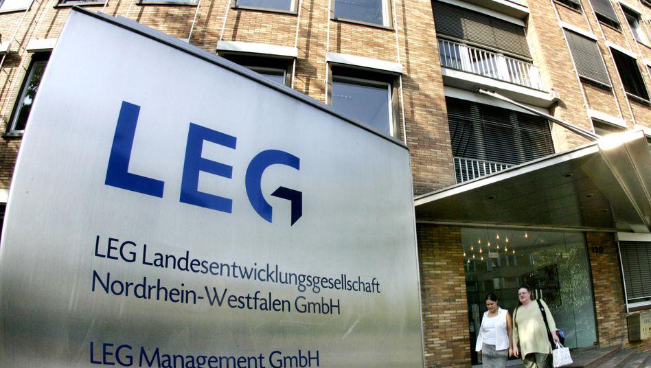 LEG-Zentrale in Düsseldorf: Für die Finanzinvestoren hat sich der Deal gelohnt