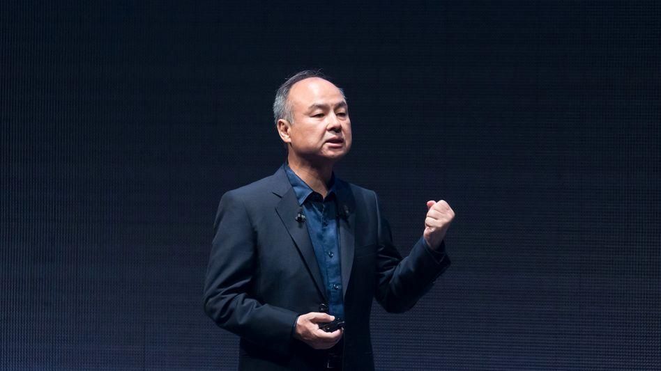 Softbanks König und CEO Masayoshi Son: Die von seiner Firma unterstützten Unternehmen sollen zusammen 1,1 Billionen US-Dollar wert sein