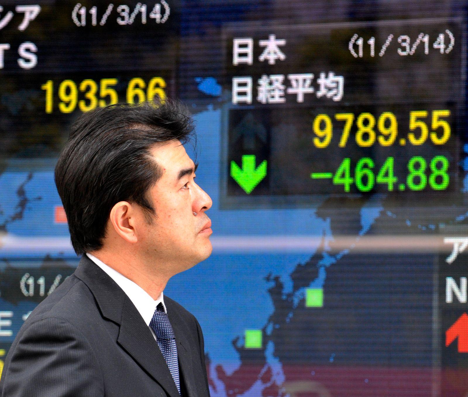 Tokio / Börsenchart / Börse / Kurstafel