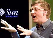 Bill Gates lässt Rivalen Sun nicht in Ruhe