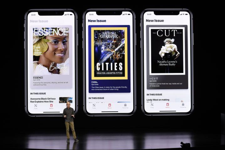 ... und Spielen bis der Arzt kommt ... Apple schafft sich verstärkt neue Erlösquellen