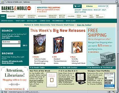 Barnes&Noble.com: Ein angekündigter Abschied