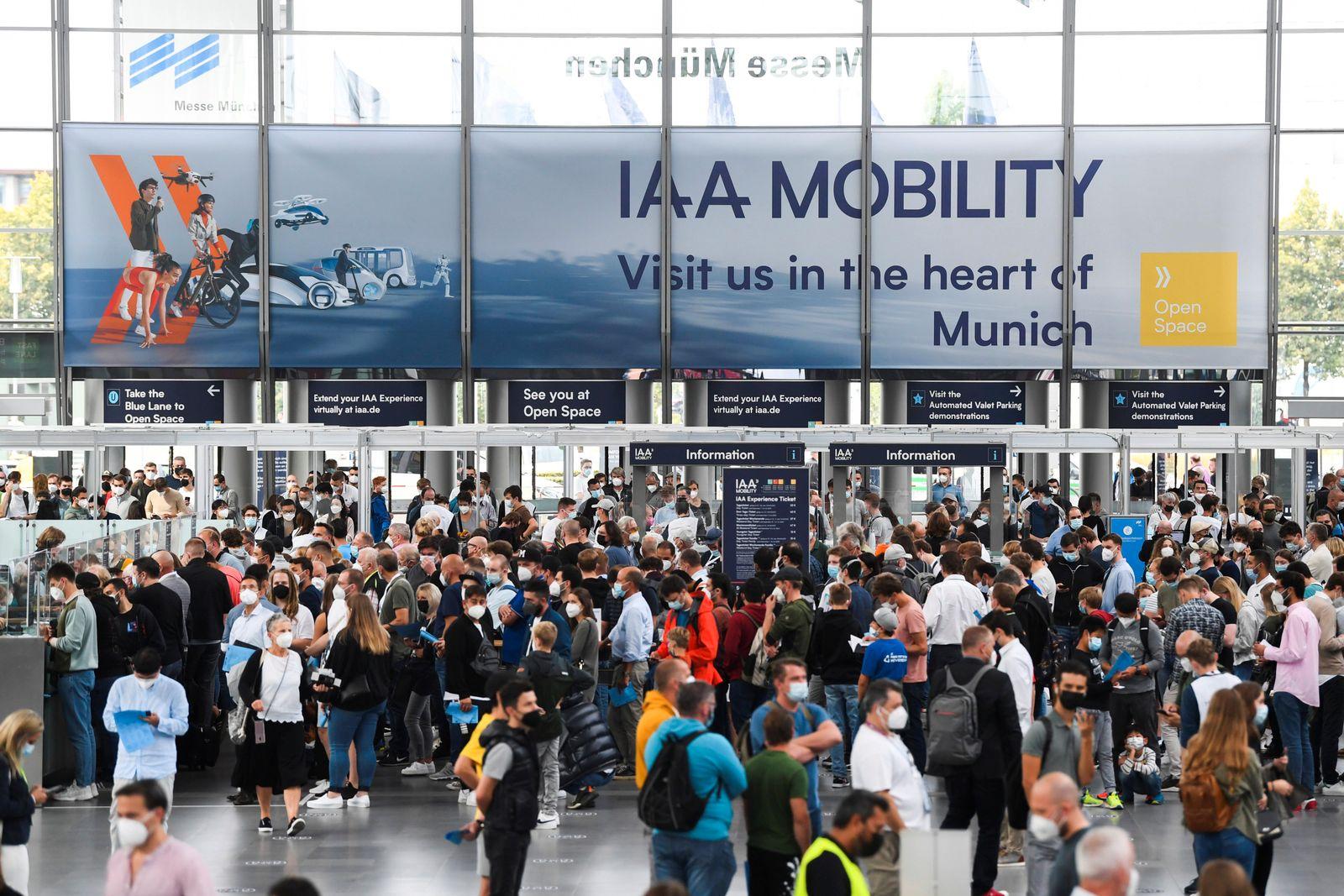 Munich Auto Show IAA Mobility 2021