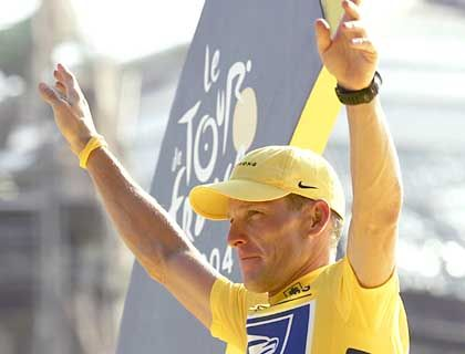 Lance Armstrong: Die Radsportlegende gewann sieben Mal in Folge die Tour de France
