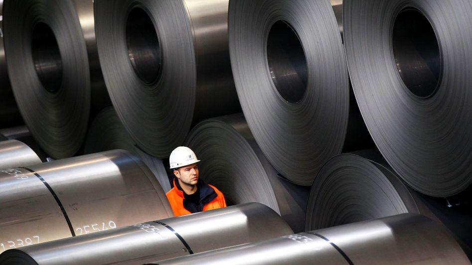 Stahlhersteller ThyssenKrupp sieht erste Verbesserungen bei Rohstoffpreisen