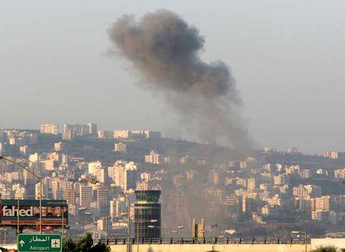 Angriff auf Beiruts Flughafen: Israel vermutet dort Waffenumschlagsplatz der Hisbollah
