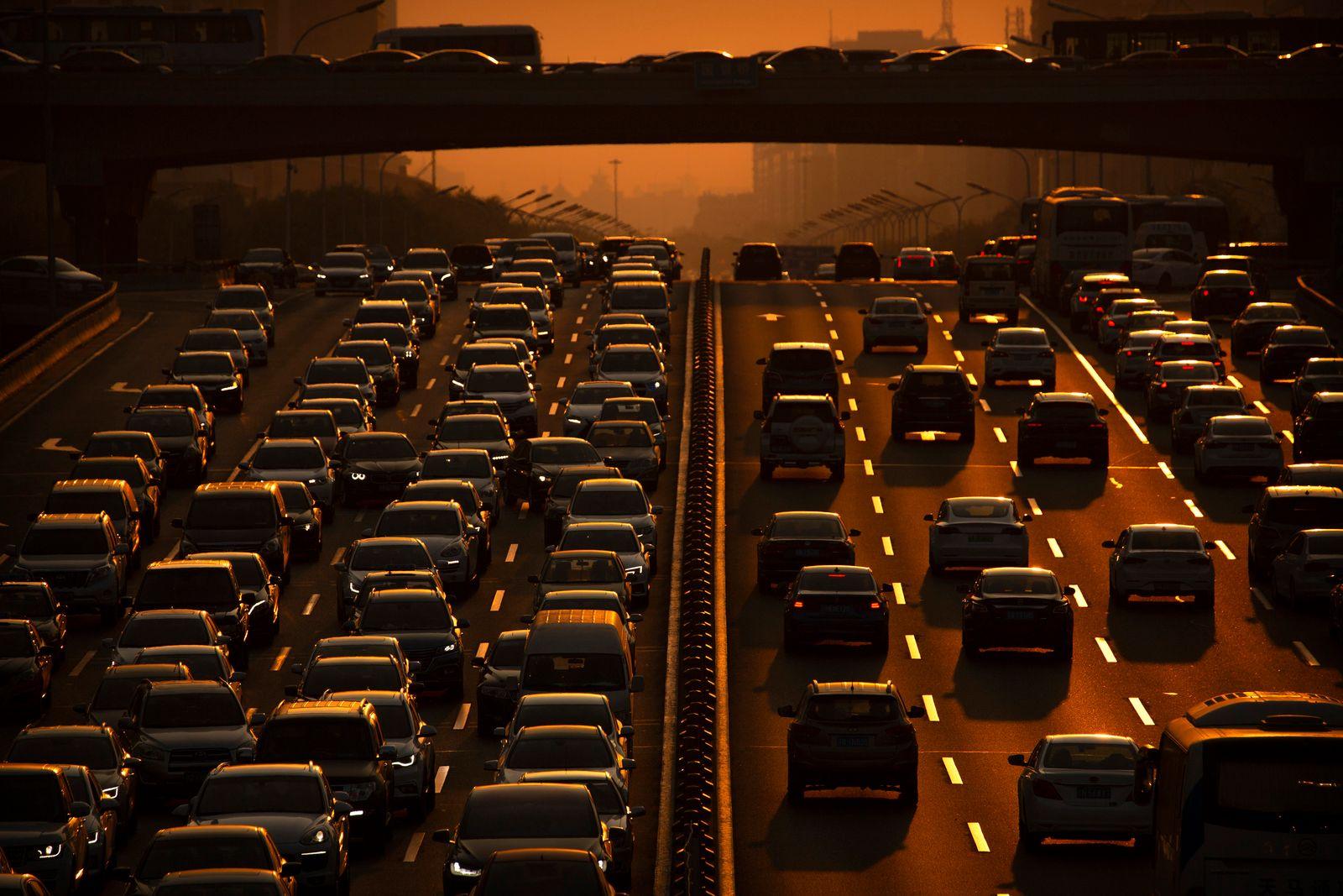 Autoverkehr / China