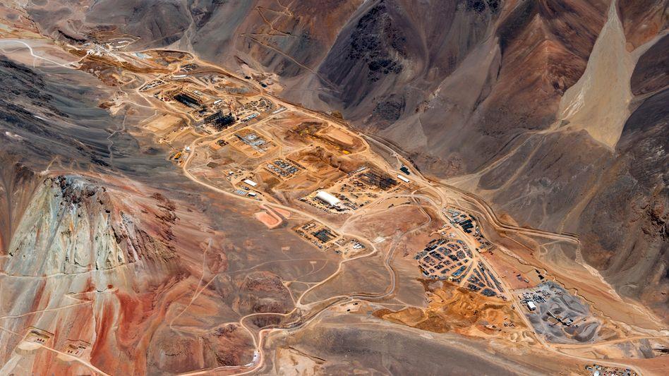 Goldmine von Barrick Gold in Argentinien: Die Minenfirmen befinden sich im Fusionsfieber.