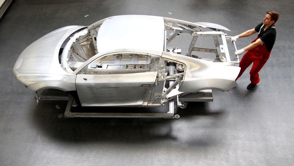 Nach gut vier Monaten will Audi im September in seinen Werken Ingolstadt und Neckarsulm (im Bild) die Kurzarbeit beenden