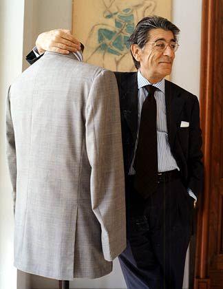 """""""Es ist die größte Gnade Gottes, dass Geld nicht Stil bedeutet."""" Ciro Paone, Nobelschneider aus Neapel"""