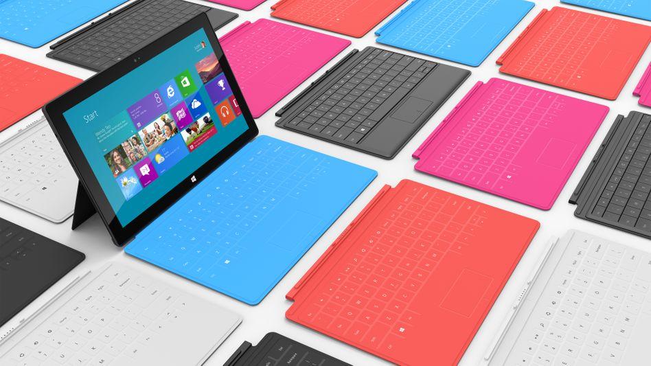 Microsoft Surface: Tablet-Rechner bleiben auf dem Vormarsch