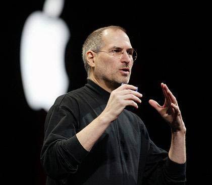 Zeremonienmeister: Wenige Tage vor Bekanntgabe der Zahlen zum ersten Geschäftsquartal stellte Apple-Chef Steve Jobs der Mac-Gemeinde neue Produkte vor