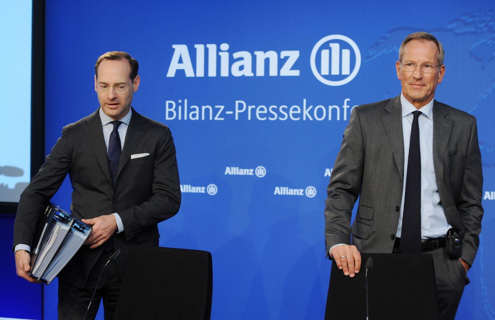 Bilanz-PK - Allianz SE
