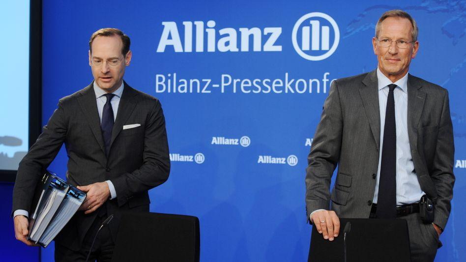 Ergebnisrückgang in allen drei Sparten: Will Allianz-Chef Oliver Bäte noch das angestrebte Ziel für dieses Jahr erreichen, muss sich der Konzern gehörig anstrengen