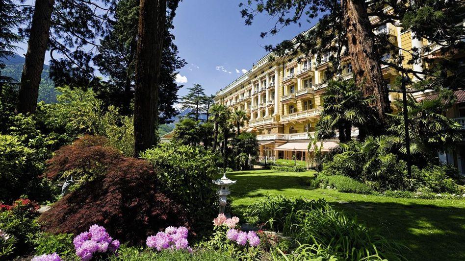 "Herrlicher Park in grandioser Umgebung: das ""Palace Merano"""