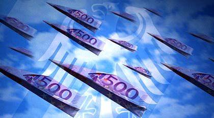 Große Scheine: Die Teuerung dürfte nach Einschätzung der Bundesbank langsamer zunehmen