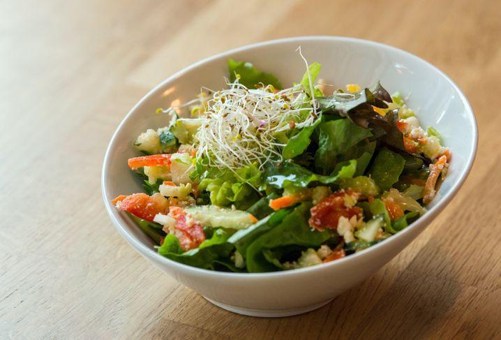 Bunt ist gesund: Nicht immer reicht die Zeit für einen feinen Salat, aber es gibt Alternativen