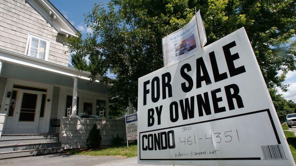 Viele Menschen in den USA verloren im Zuge der Immobilien- und Finanzkrise ihr Eigenheim. Die Deutsche Bank habe diese weltweite Krise durch ihre Geschäft mit ausgelöst, ist die US-Justiz überzeugt