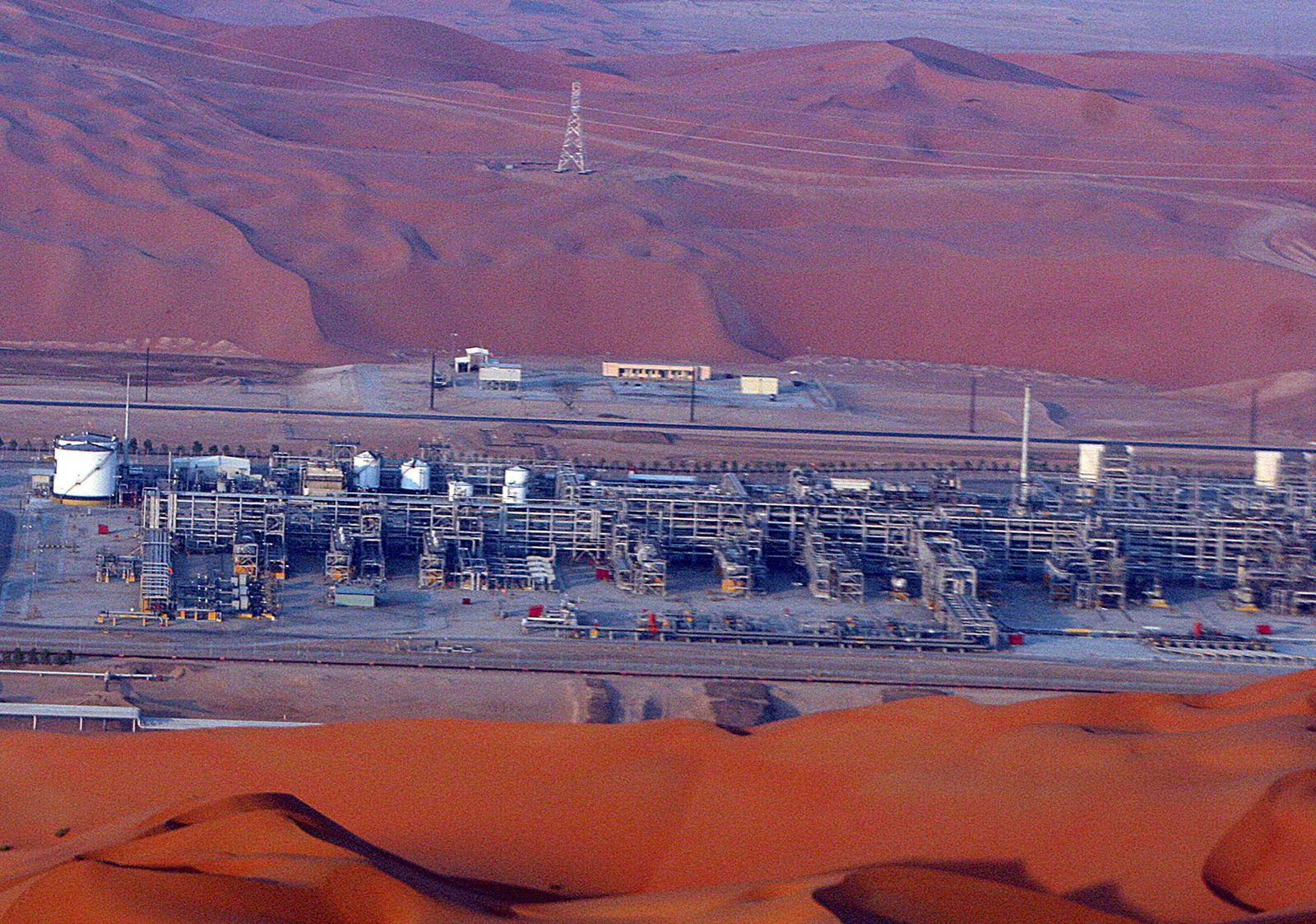 Öl Saudi-Arabien / Ölfeld Shaybah