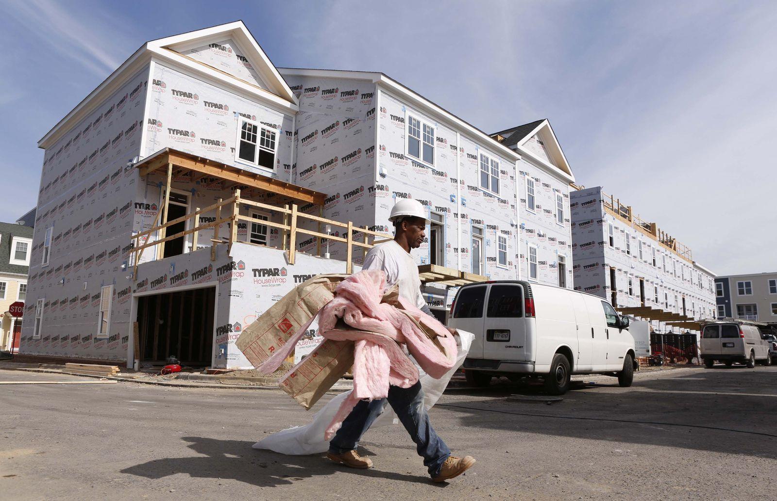 US Wirtschaft / Konjunktur / Hausbau