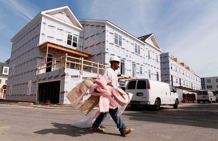 Baustelle im Großraum Washington: Es kommt wieder neues Angebot auf den Markt