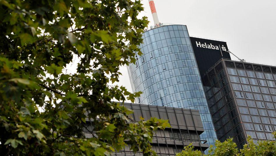 Zentrale der Landesbank Hessen-Thüringen (Helaba) in Frankfurt: Kapitallücke wird zu Jahresende geschlossen