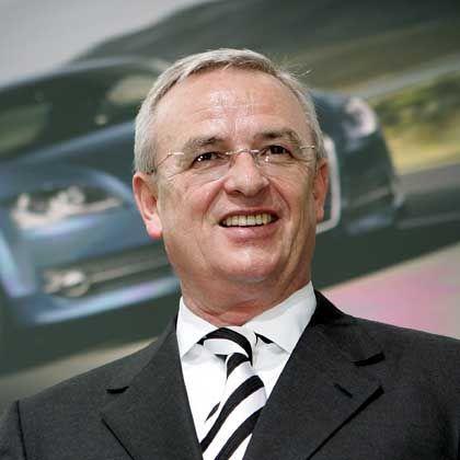 """VW-Chef Winterkorn: """"Der Konzern hat in allen wesentlichen Regionen die Auslieferungszahlen deutlich gesteigert"""""""