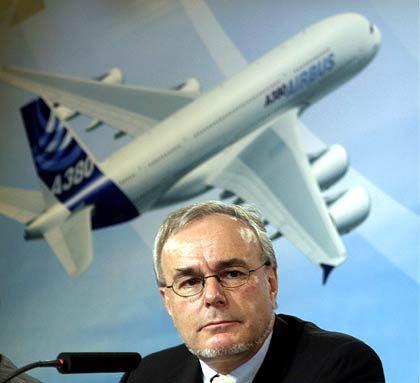 Abschied: Airbus-Chef Gustav Humbert