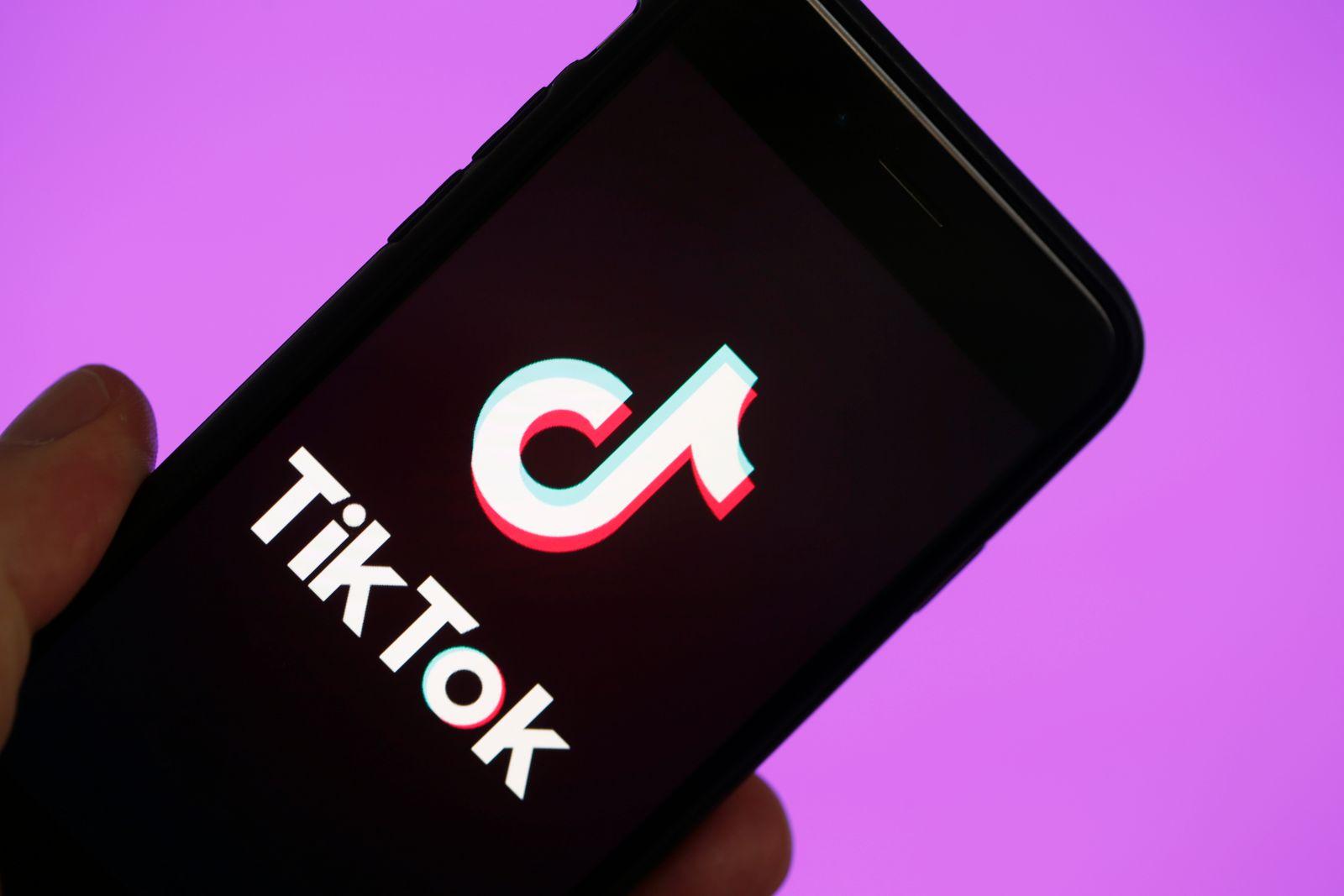 EINMALIGE VERWENDUNG TikTok App