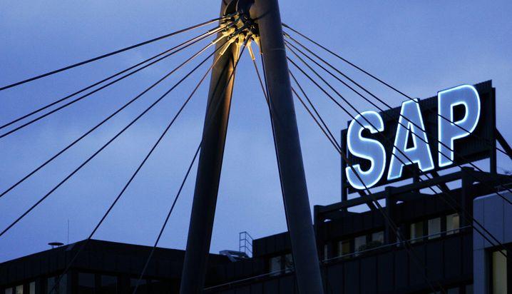 SAP-Sitz in Walldorf: Der Softwarekonzern gehört zu den Schwergewichten im Dax