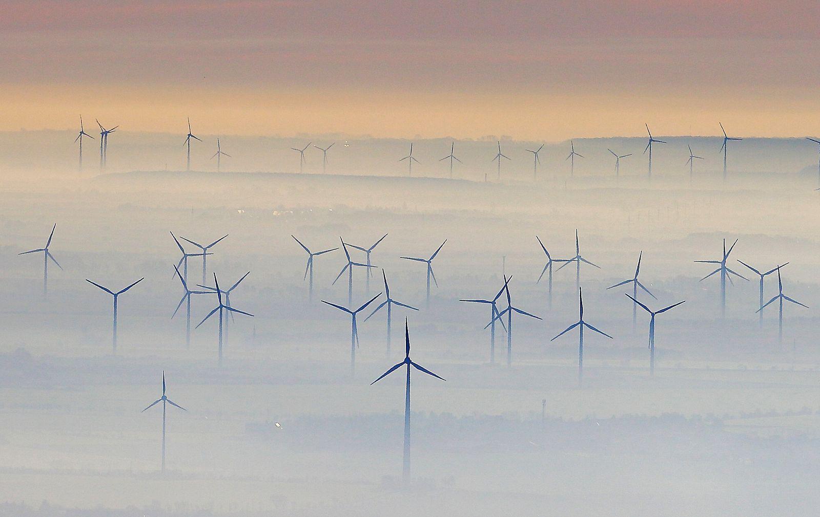 Windräder/ Bruttoinlandsprodukt