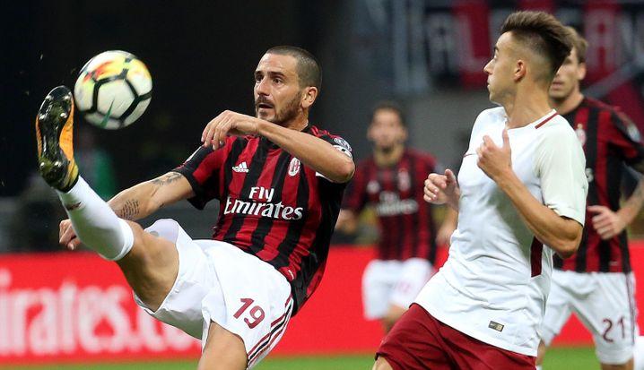 Leonardo Bonucci, Top-Verteidiger vom AC Milan, bekommt mit Paul Singer vom Hedgefonds Elliott einen aggressiven Chef und neuen Eigentümer
