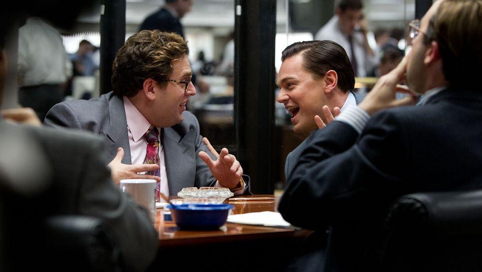 """Szene aus """"The Wolf of Wall Street"""": Bis heute sind in Manhattan windige Abzocker am Werk"""