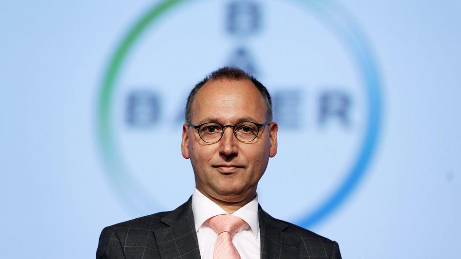 Bayer-Chef Werner Baumann: Größte Übernahme eines Dax-Konzerns im Ausland