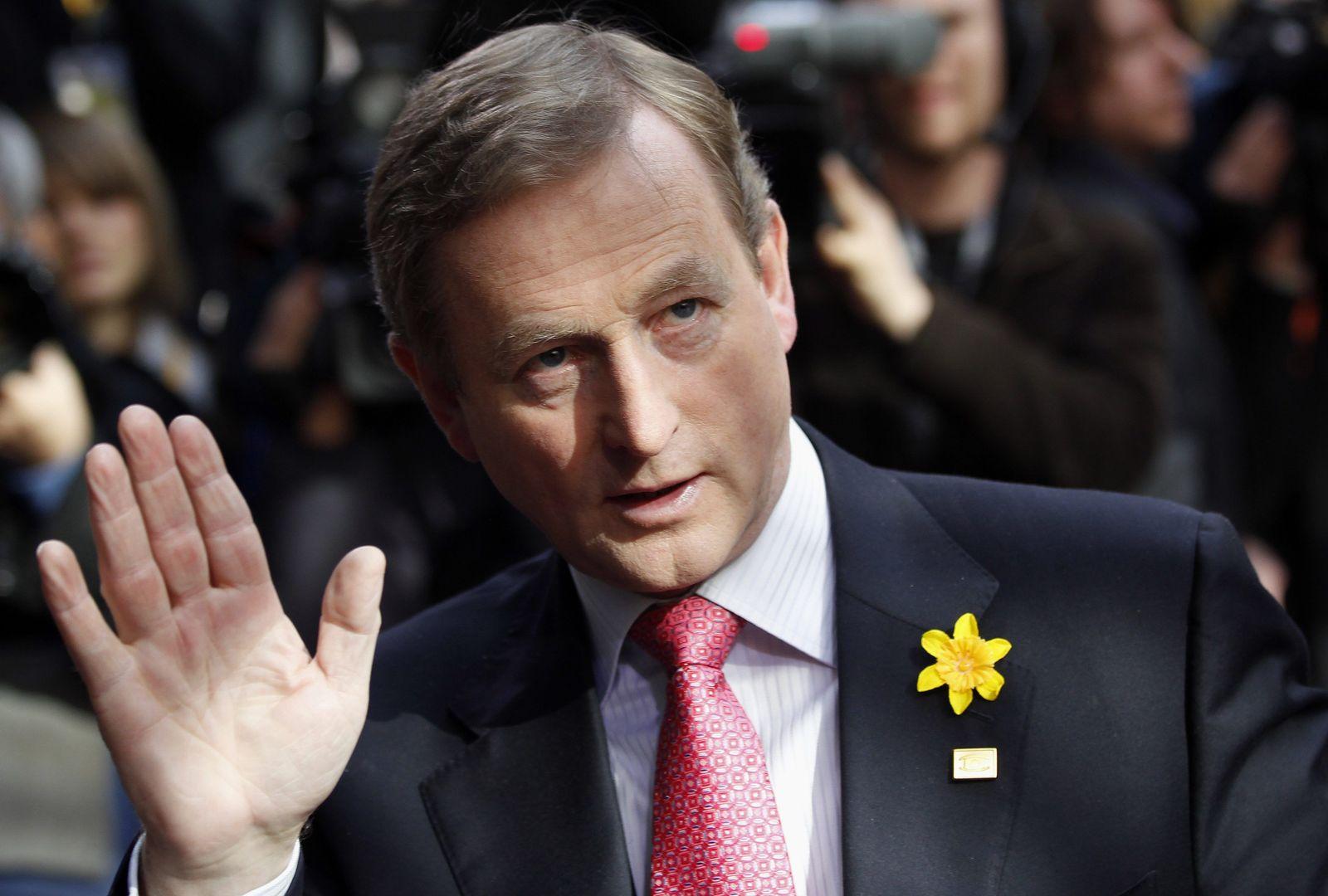 Irischer Premierminister Enda Kenny
