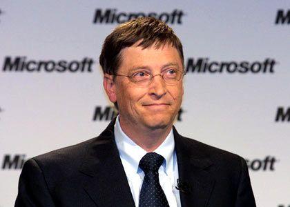 Microsoft-Gründer Bill Gates: Windows-Betriebssystem auf dem MDA Compact