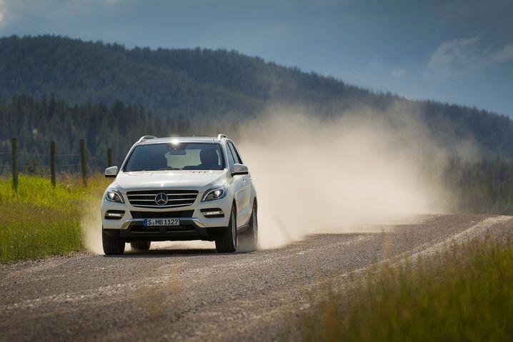 M-Klasse: Bei Gebrauchtwagenkäufern beliebt - trotz des hohen Preises von durchschnittlich 44.000 Euro